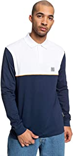 DC Mens Waumbeck Long Sleeve Polo