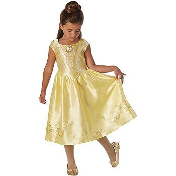 La Bella y la Bestia - Disfraz de Bella para niña, infantil 5-6 ...