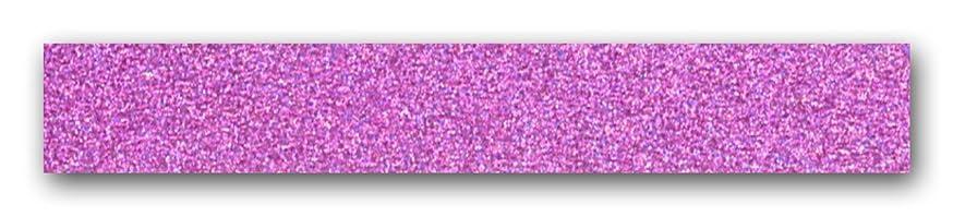 Masking Tape neon Purple Glitter