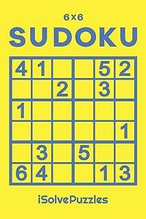 6x6 SUDOKU: 100 Challenging Puzzles