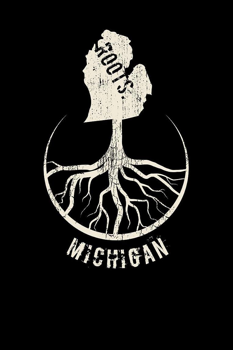 ロマンストライアスロン石のMichigan Roots: Proud Homeland Blank Notebook Journal