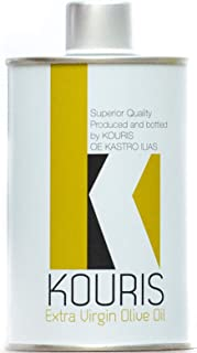 Kouris – Extra Virgin Olive Oil, 100% Organic, Cold Pressed, Family Farmed in Greece, Robust & Full-Bodied Flavour, Perfec...
