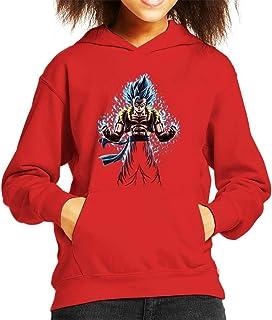 Cloud City 7 Gogeta Dragon Ball Z Fusion Reborn Kid's Hooded Sweatshirt