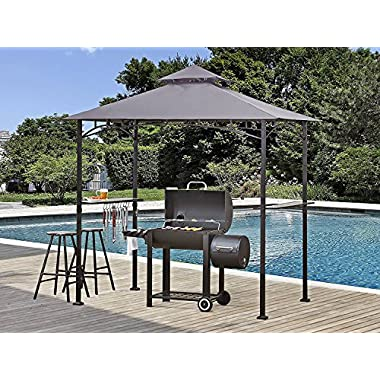 ABCCANOPY Grill Shelter Replacement Canopy roof for Model L-GZ238PST-11 (grey)