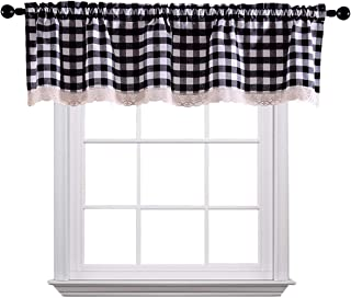 Amazon.com: Black - Valances / Tiers, Swags & Valances: Home ...