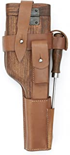 German WWII C-96 Wood Butt Stock and Holster Set, C96