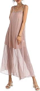 Loose Dresses for Women Sexy Party Dress Wedding Dress Beach Dress Maxi Dress Pink