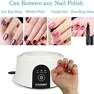 Portable Dip Nail Remover Tools Steam Removal Gel Nail Machine,Gel Nail Polish Acrylic Steamer Remover Machine