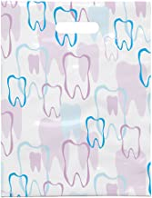 Practicon 1109664 Scatter Print Tooth Outline Bags, 8