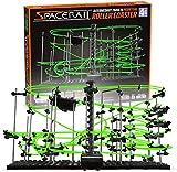 The Dark Level 4 SpaceRail Perpetual Rollercoaster Glow Kit di costruzione fai da te per binari per adolescenti e adulti