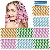 64Pcs Hair Curlers Spiral Hair