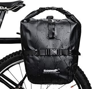 comprar comparacion Selighting Bolsa Alforja Trasera para Bicicleta 20L, Grande Bolsa Bicicleta Multifunción Carretera MTB Bicicleta de Montaña