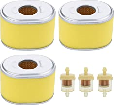 Trustsheer Air Filter for Honda 5HP 5.5HP 6.5HP GX120 GX140 GX160 GX200 Engine Replace 17210-ZE1-517 17210-ZE1-505 17210-ZE1-507 17210-ZE1-822 17210-ZE1-821 17210-ZE1-820