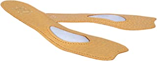 Orthotic 3/4 leather insoles for pumps/heels with arch support, Kaps Ballet