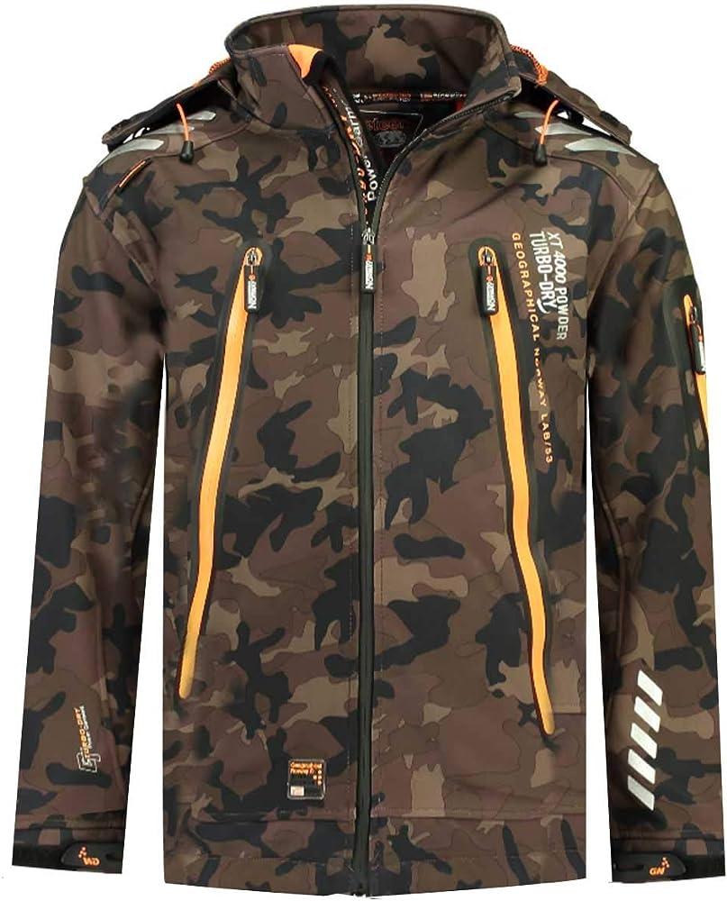Geographical norway,  giacca,giubotto con cappuccio per uomo,poliestere 96%,materiale elastan 4% 8050750471133
