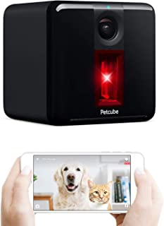 Petcube [2017 Item Play Smart Pet Camera with Interactive Laser Toy. Remote Dog/Cat..