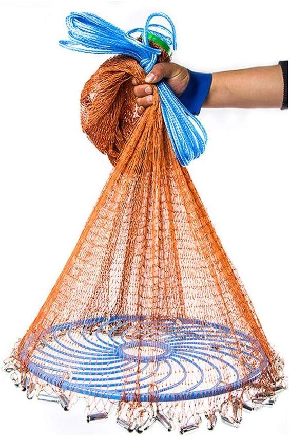 予約販売品 Fishing Cast Net お気に入 American Hand Throw Casting Nets Sinker Ne Fish