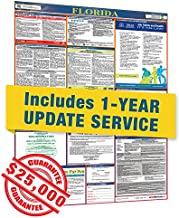 2019 Florida All in One Labor Law Posters with 1 Yr E Update Service