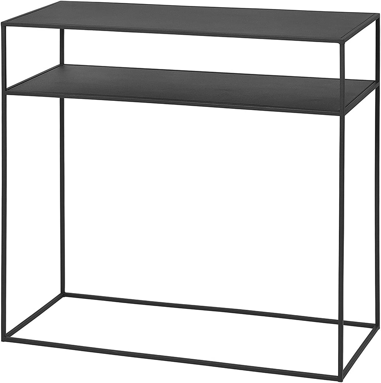 Blomus FERA Sideboard, Kommode, Ablage, Regal, Abstellschrank, Stahl, H 80 cm, 65751