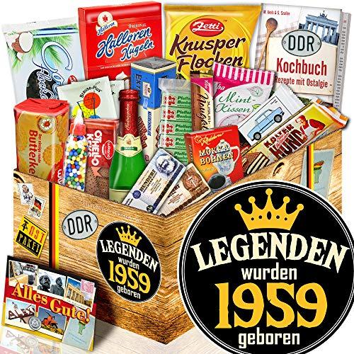 Legenden 1959 - Geschenk Box XXL - Zum 60. Geburtstag Geschenk