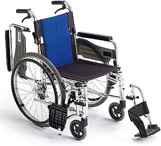 ミキ BAL-3 多機能型 自走型車いす ブルー 40