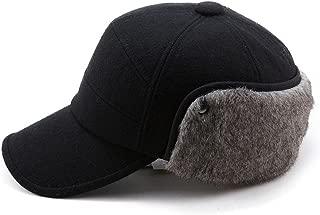 Wool/Cotton/Denim Baseball Cap Men Hunting Dad Hats Sports Earflap Unisex