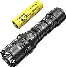 Nitecore Lanterna LED recarregável USB-C P20i – 1800 lúmens – Bateria incluída, com cabo USB Eco-Sensa Tipo C