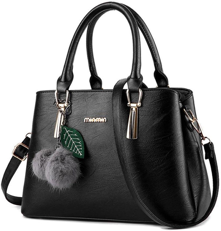YKXIAOYU Ladies Handbag 2019 New European and American Fashion Ladies Hand Cross Body Bag Single Shoulder Bag Big Bag