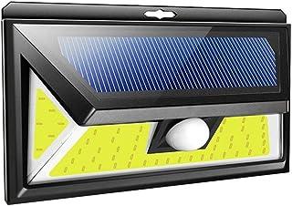 Solar Lights Outdoor, Wall Lighting W/ 270° Wide Angle, COB LEDs Motion Sensor Light, IP65 Waterproof, for Front Door, Yar...