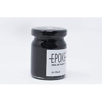 EPOKE Jet Black(Opaque) - EPOKE Art Resin Pigment Paste - 75g