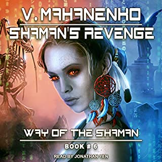 Shaman's Revenge audiobook cover art