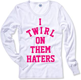 Hank Player U.S.A. I Twirl On Them Haters Women's Thermal T-Shirt