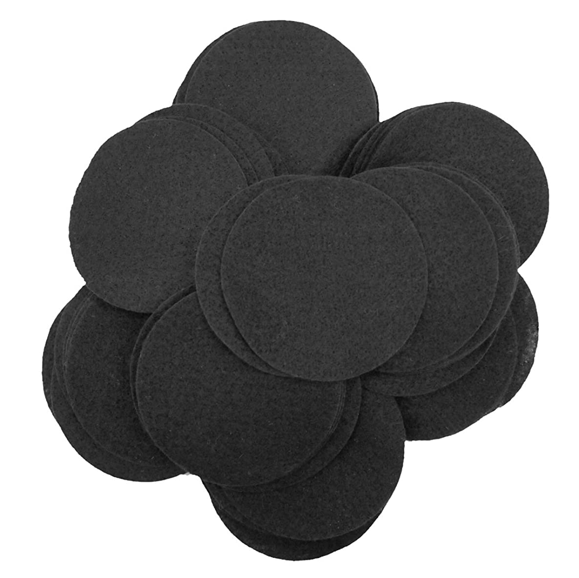 Playfully Ever After 3 Inch Black 30pc Felt Circles
