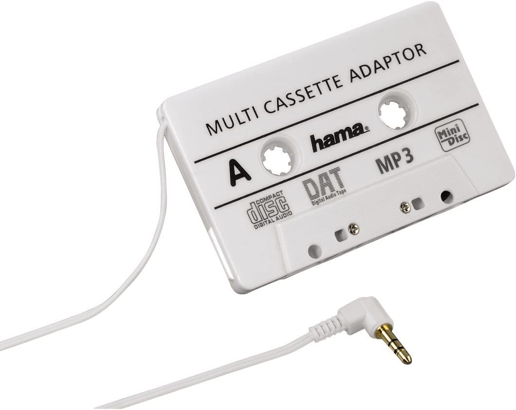 Hama 14499 - Adaptador Jack 3.5 mm a casette