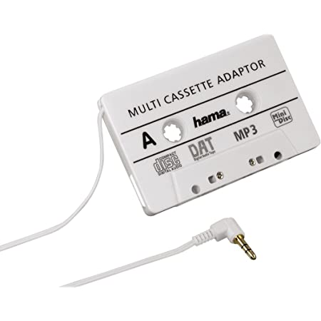 Hama Kfz Kassettenadapter Weiß Elektronik