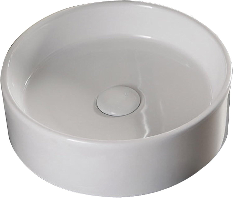 Lux-aqua Design Waschtisch Waschbecken Keramik Aufsatzbecken 4361