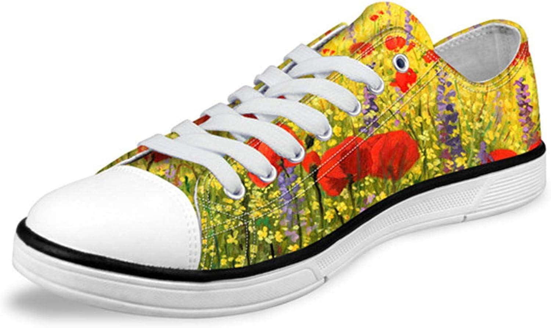 Carolyn Jones Women Low Top Canvas shoes Classic Female Flower Pattern Vulcanized Sneakers D0405Ap 7