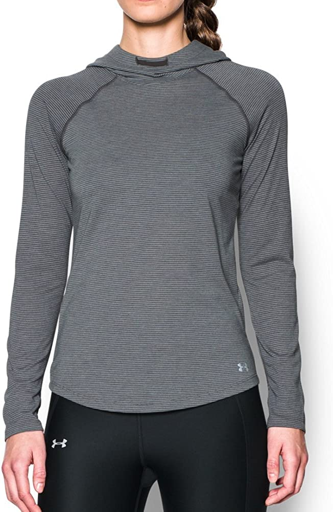Under Armour Free shipping / New Women's Streaker Large Hoodie Pomegranate Heather Outlet SALE