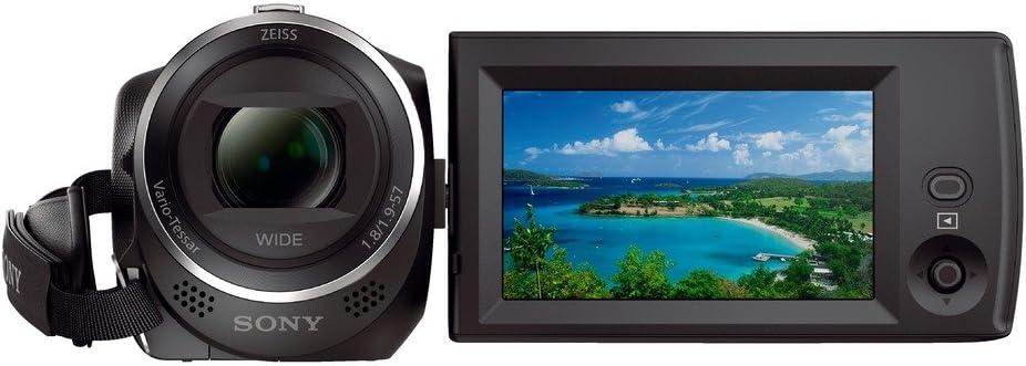 SONY - HDRCX405 Black Handycam Camcorder