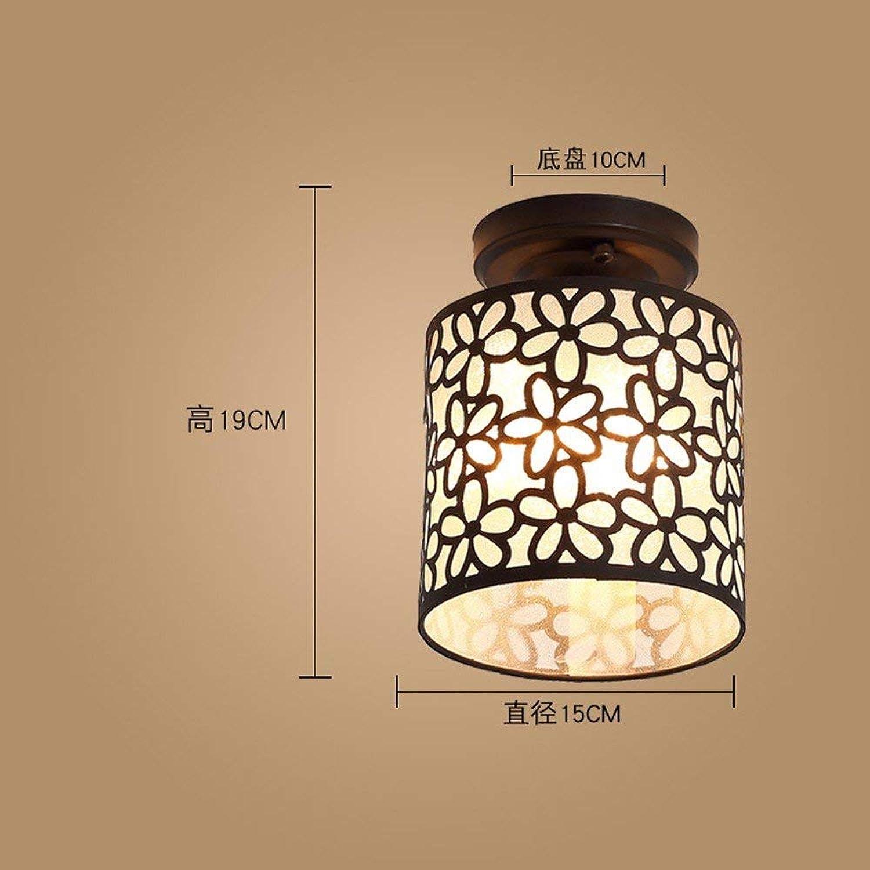 FuweiEncore Amerikanischen Stil Deckenleuchten Loft Flur Restaurant Balkon Lampe 9 Watt 15  19 cm