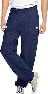 6b24280bd27c Champion Authentic Men s Closed Bottom Jersey Pants Navy