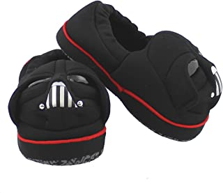 Toddler Boys Star Wars Darth Vader Black Slippers