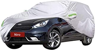 Car Covers Car Cover SUV Niro Full Exterior Car Cover Thick Oxford Cloth Sun Protection Rain Snow Dust Wind Cover Clothing...