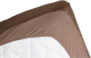 LINANDELLE Drap Housse Coton Jersey Extensible Douceur