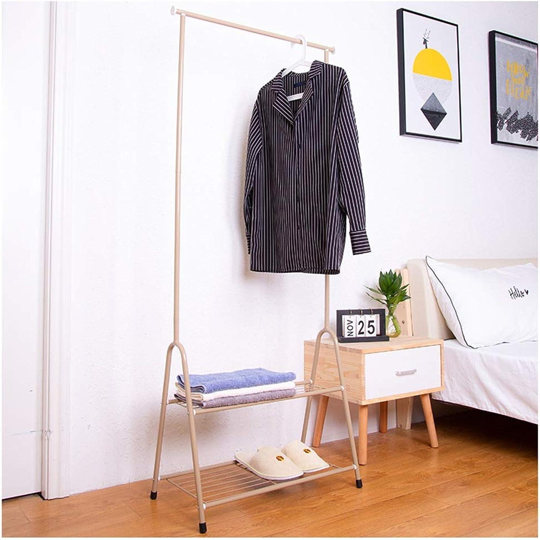 WYQSZ Coat Rack-Floor Rack Indoor Coat Rack Single Pole Drying Rack Bedroom Simple Hanging Rack Floor Coat Rack - Coat Rack 8563 (Design   C)