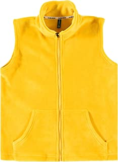 Yimoon Womens Reversible Hooded Sherpa Lined Vest Open Front Warm Cardigan Waistcoat with Pockets