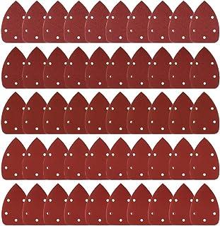 comprar comparacion Coceca Paquete de 50 Hojas de lija con velcro, 10 unidades por cada grano 40/80/120/180/240, para multilijadora