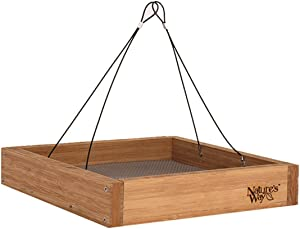 Nature's Way Bird Products BWF3 Bamboo Hanging Platform Feeder