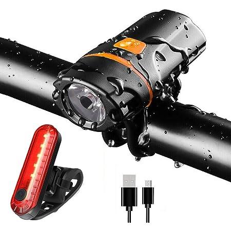Luce posteriore a LED per bici anteriore  Set fanale posteriore per bicicletta