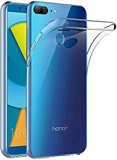 Olixar for Huawei Honor 9 Lite Clear Case - Flexible Silicone Gel TPU - Ultra Thin - Slim Protective Cover - Wireless Charging Compatible - Ultra Thin, Clear & Lightweight